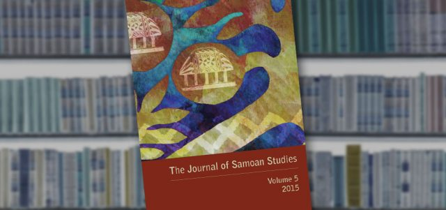 Journal for Samoan Studies Cover