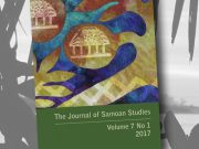 Journal for Samoan Studies - Volume 7 cover page